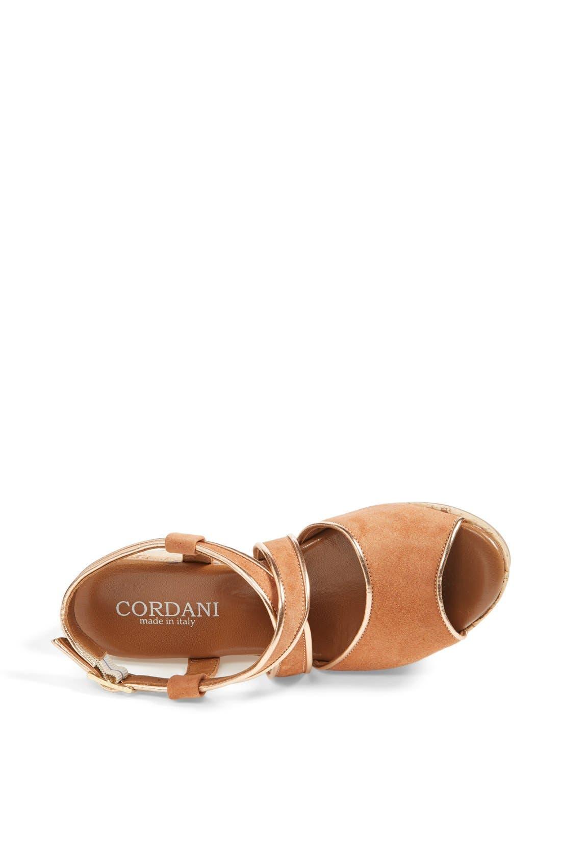 Alternate Image 3  - Cordani 'Denton' Suede Wedge Sandal