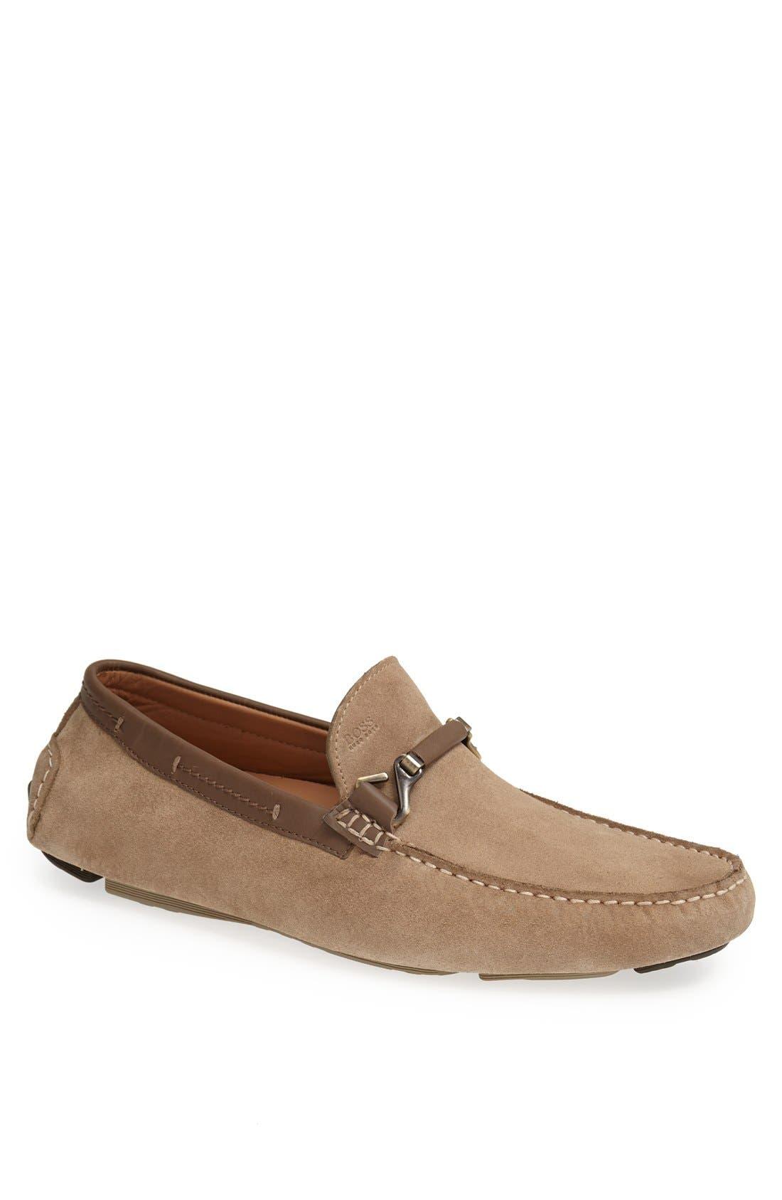 Alternate Image 1 Selected - BOSS HUGO BOSS 'Drenno' Driving Shoe (Men)