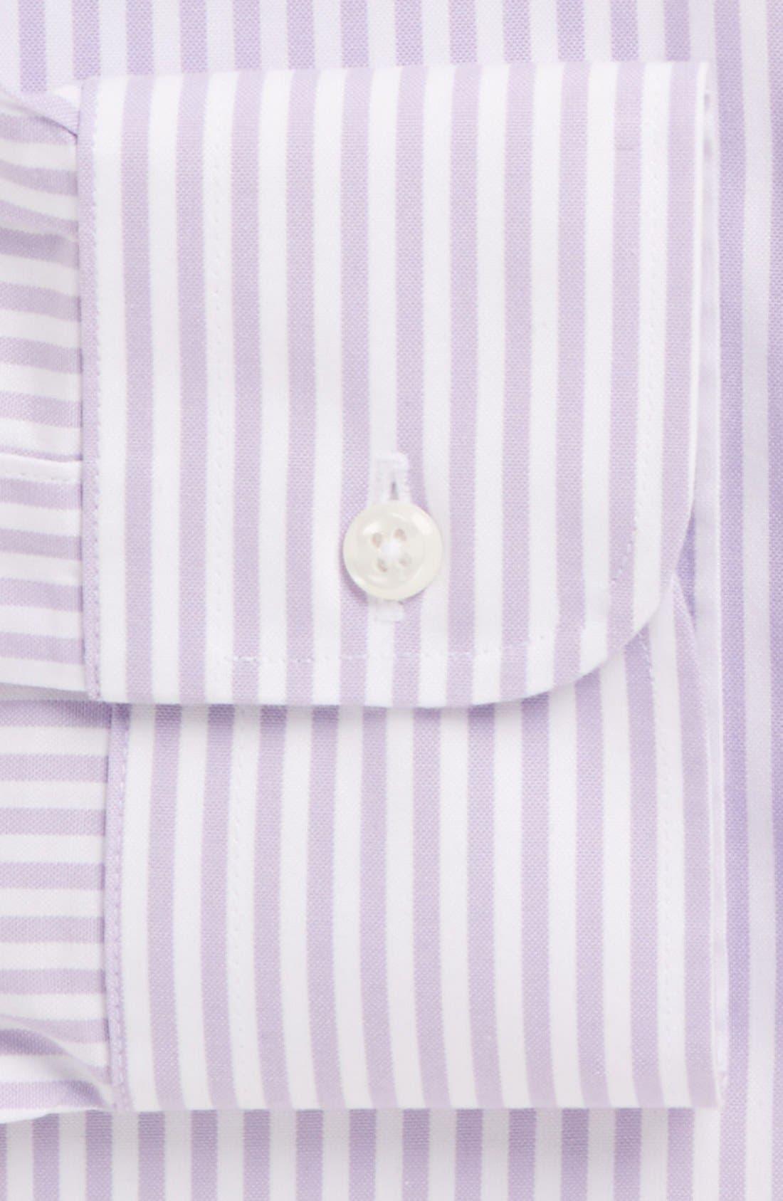 Alternate Image 4  - Nordstrom Men's Shop Smartcare™ Classic Fit Stripe Dress Shirt (Online Only)
