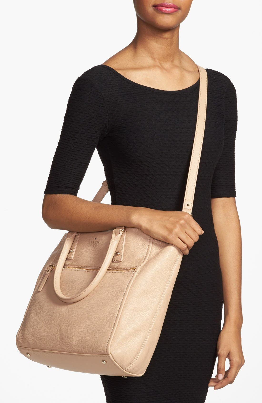 Alternate Image 2  - kate spade new york 'cobble hill - lilla' leather tote (Nordstrom Exclusive)