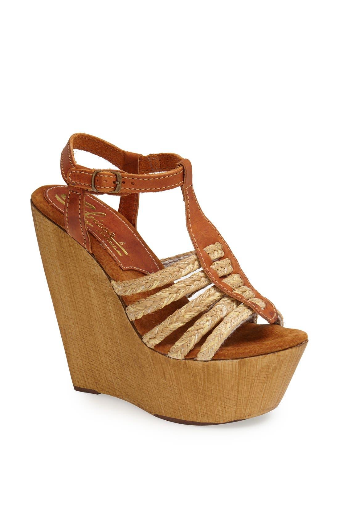 Alternate Image 1 Selected - Sbicca 'Bimini' Wedge Sandal