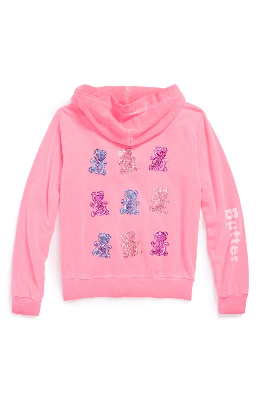 Main Image - Butter Supersoft 'Storm Wash' Hoodie (Big Girls)