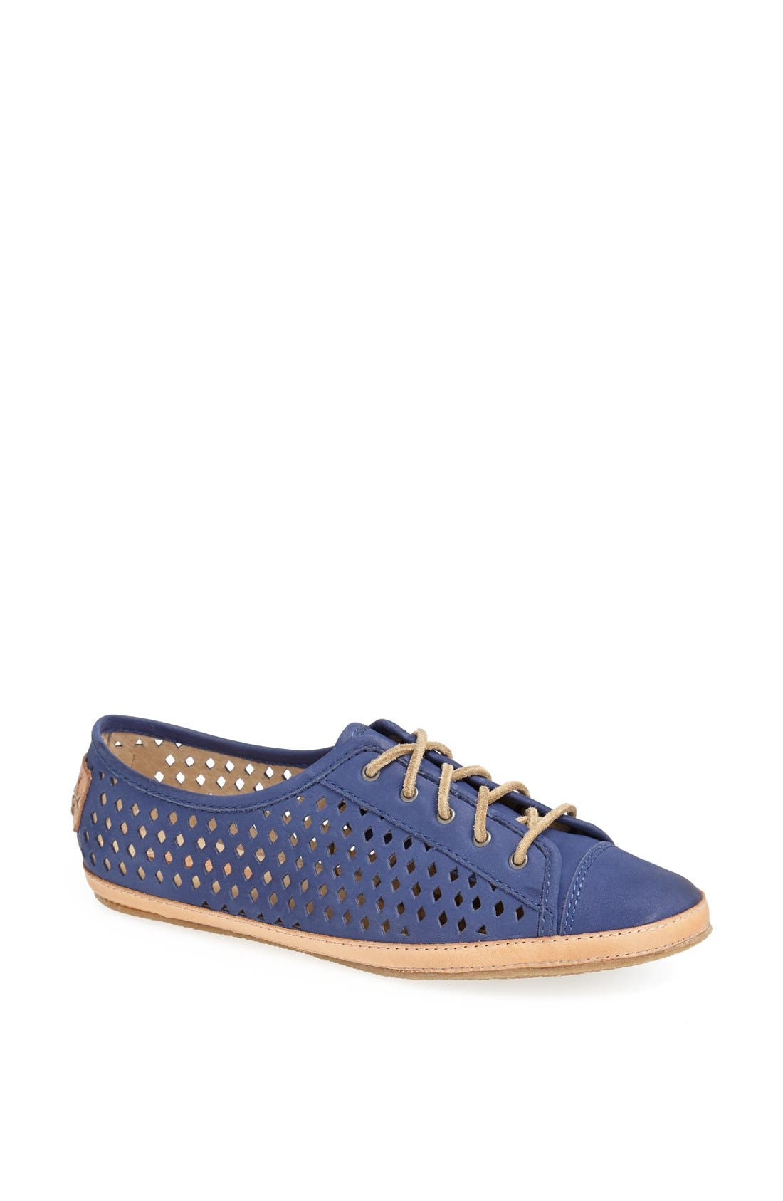 Alternate Image 1 Selected - Frye 'Teagan Low' Perforated Leather Lace-Up