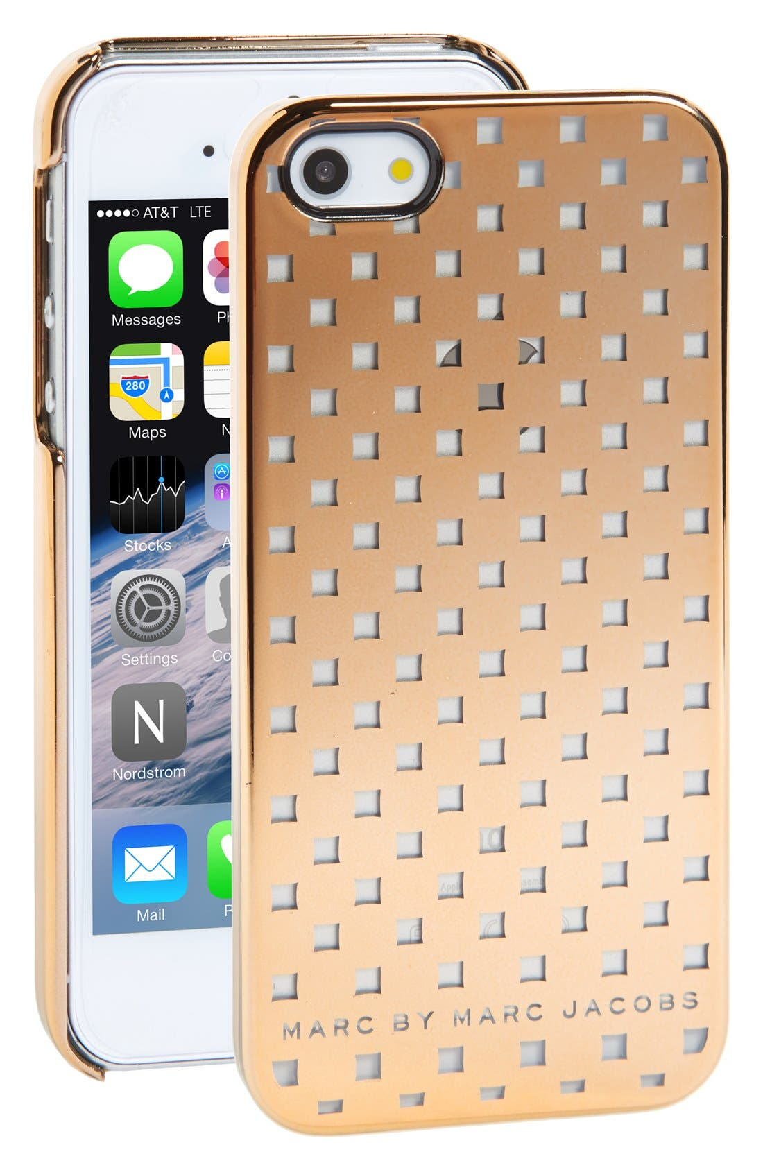 Alternate Image 1 Selected - MARC BY MARC JACOBS 'Block' iPhone 5 & 5s Case