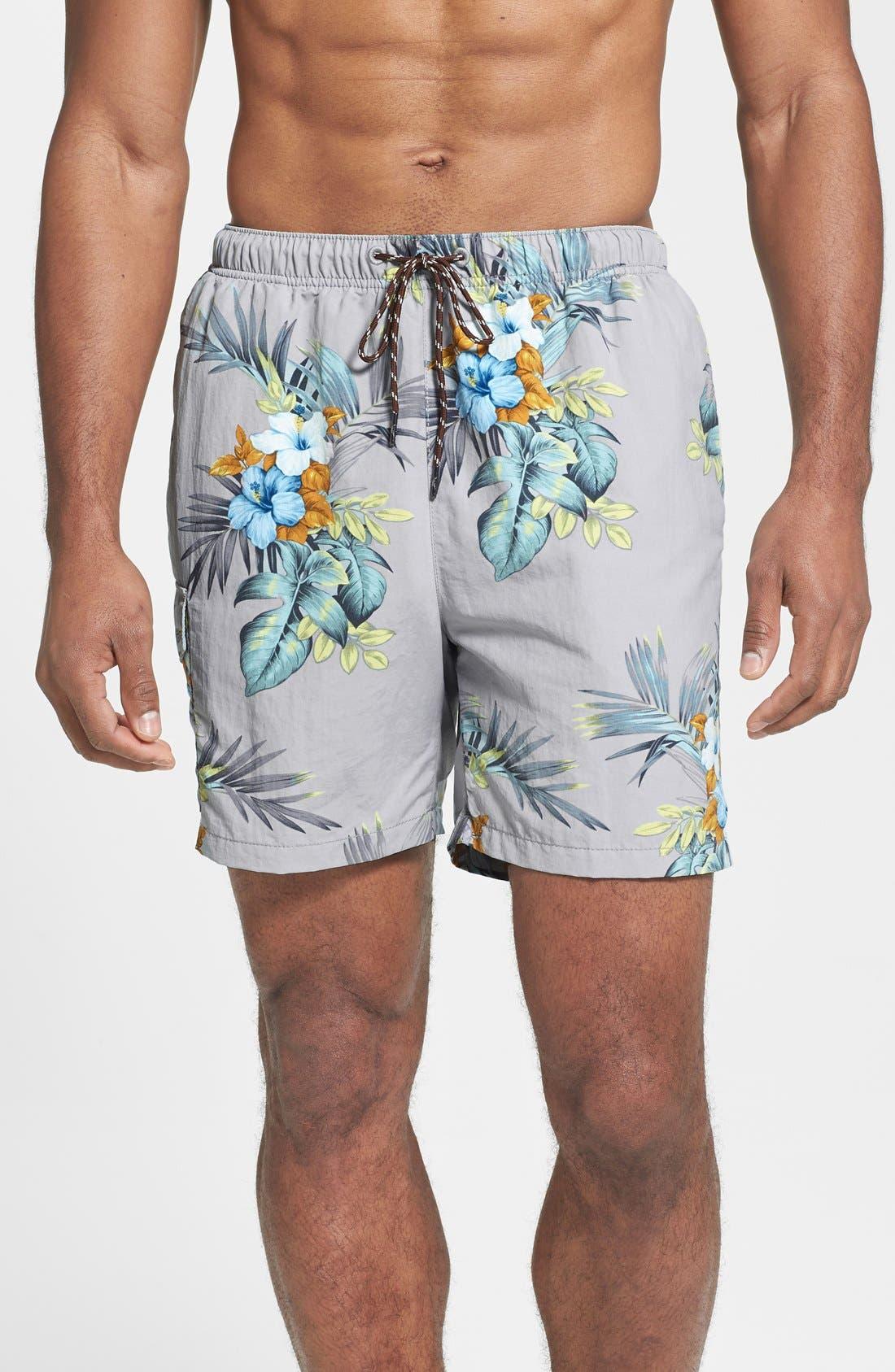 Alternate Image 1 Selected - Tommy Bahama 'Naples - Garden Bay' Swim Trunks