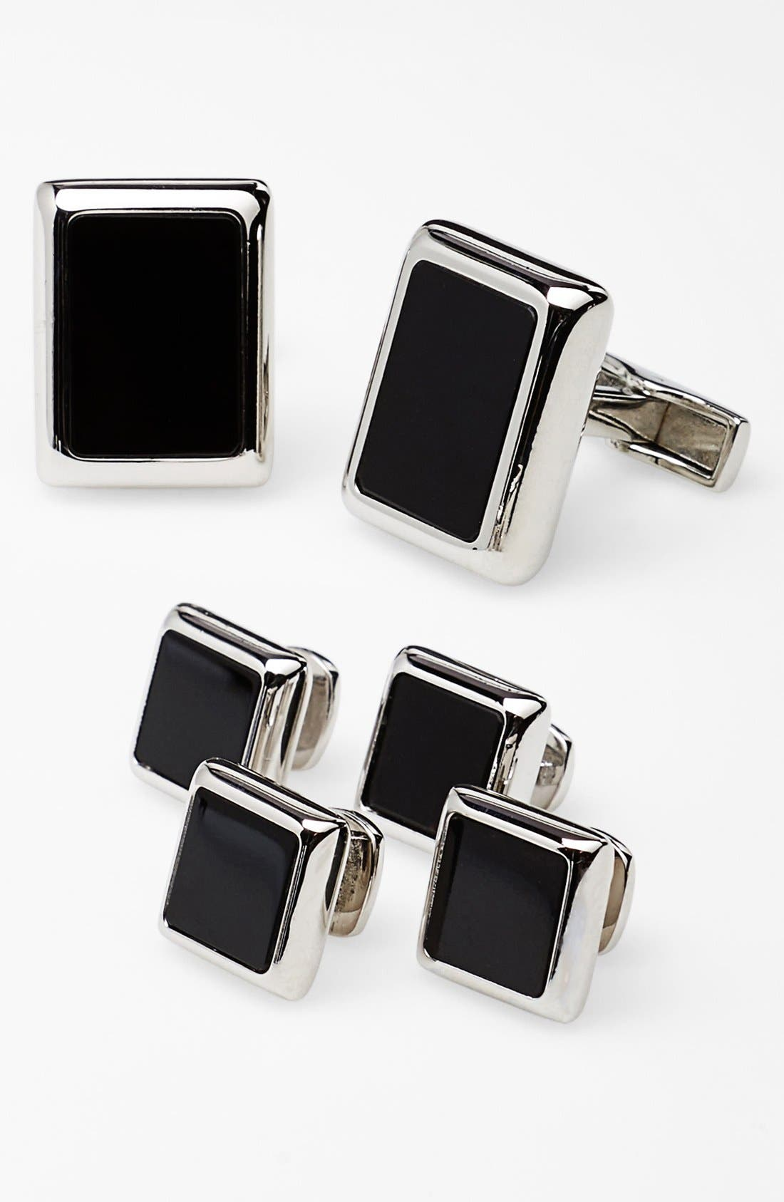 Main Image - Ox and Bull Trading Co. 'JFK Presidential' Shirt Studs & Cuff Links