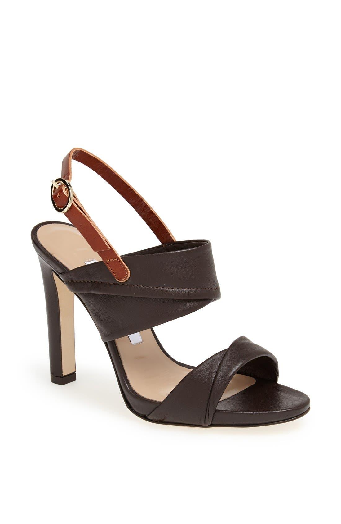 Alternate Image 1 Selected - Diane von Furstenberg 'Jacey' Leather Sandal