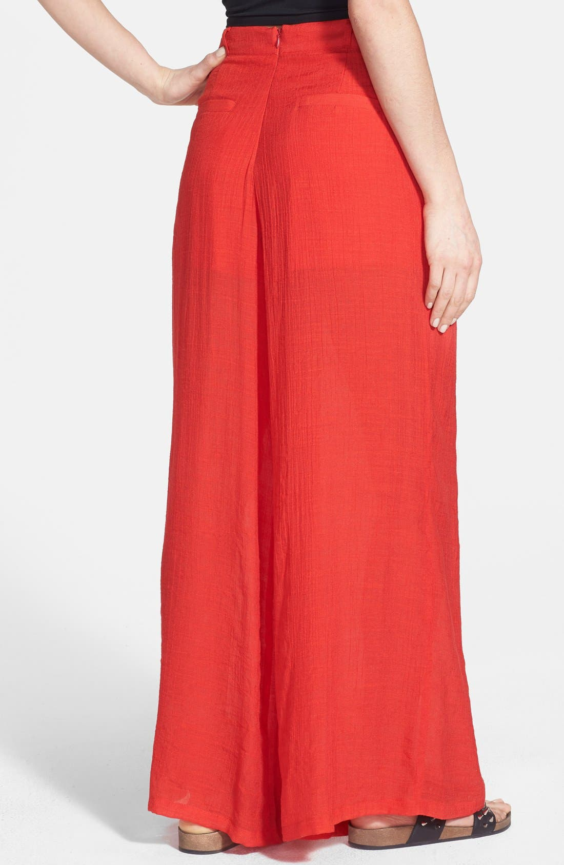 Alternate Image 2  - Rules of Etiquette Palazzo Pants