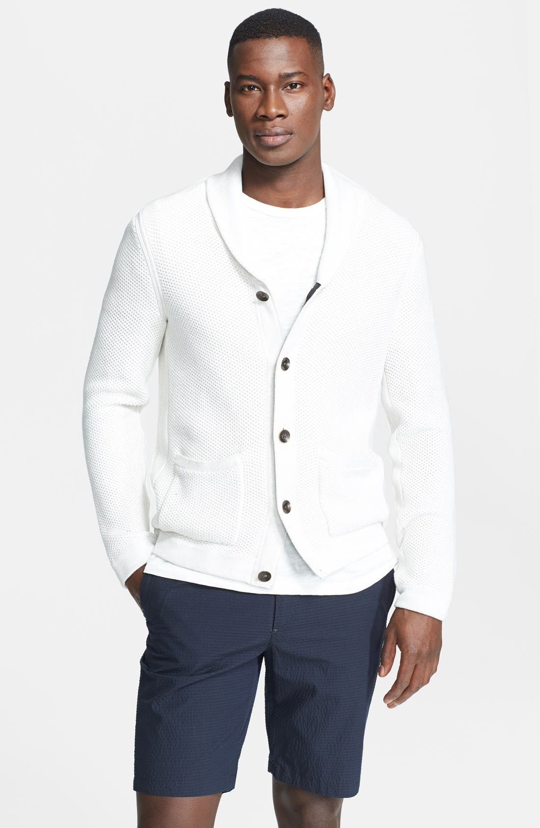 Alternate Image 1 Selected - rag & bone 'Avery' Shawl Collar Cardigan