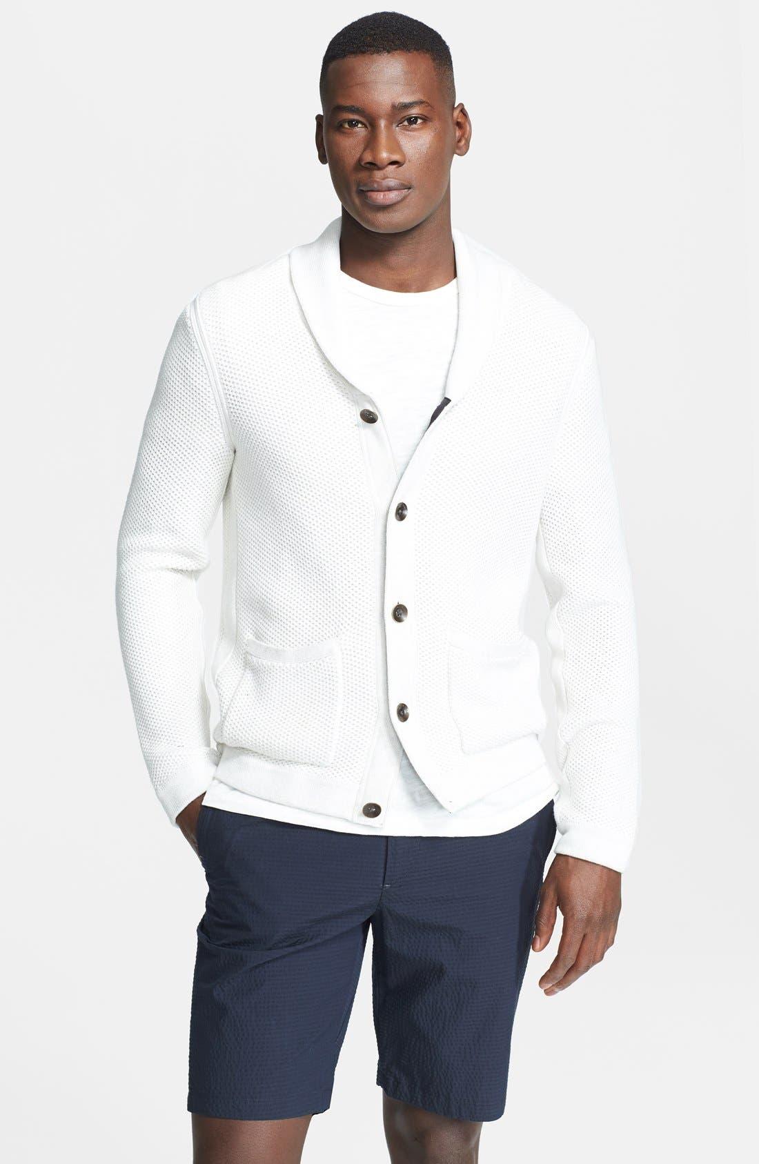 Main Image - rag & bone 'Avery' Shawl Collar Cardigan