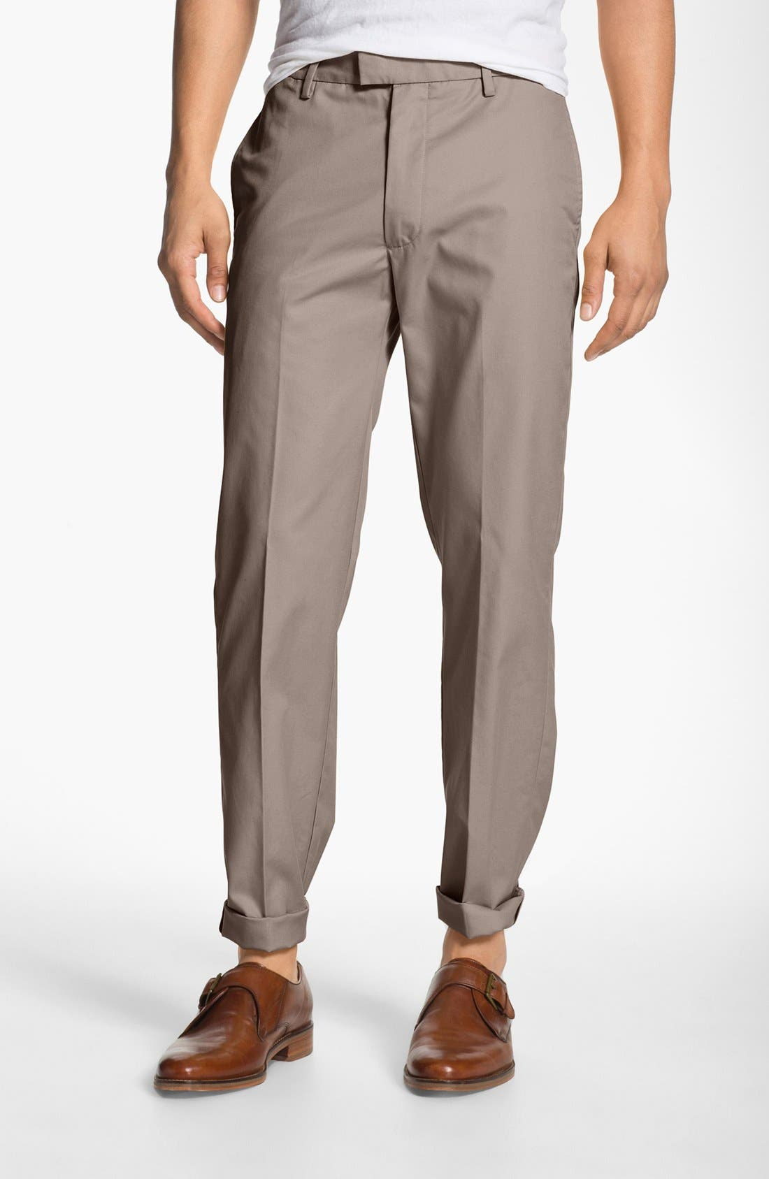 Main Image - Dockers® 'SF Khaki' Modern Slim Fit Dress Chinos