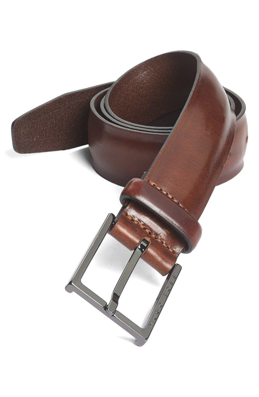 Alternate Image 1 Selected - BOSS HUGO BOSS 'Cereto' Belt