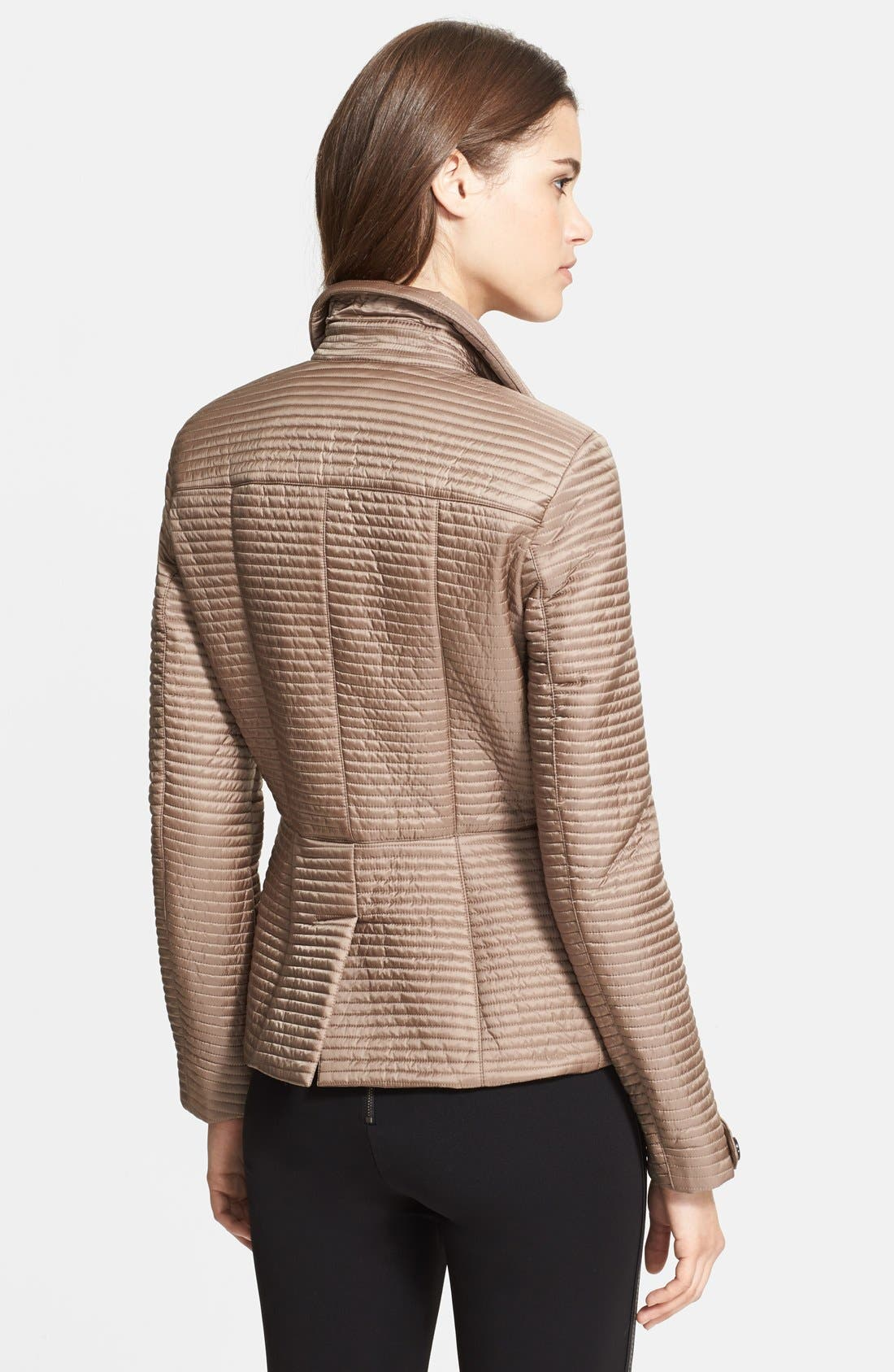 Alternate Image 2  - Burberry London Quilted Jacket