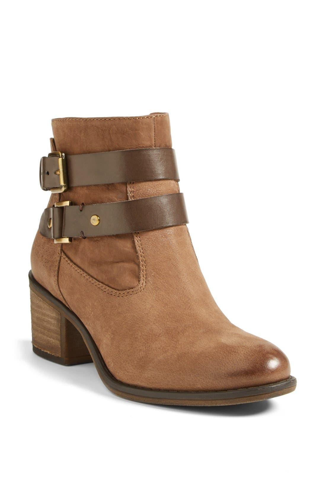 Alternate Image 1 Selected - Franco Sarto 'Linden' Leather Bootie (Women) (Nordstrom Exclusive)