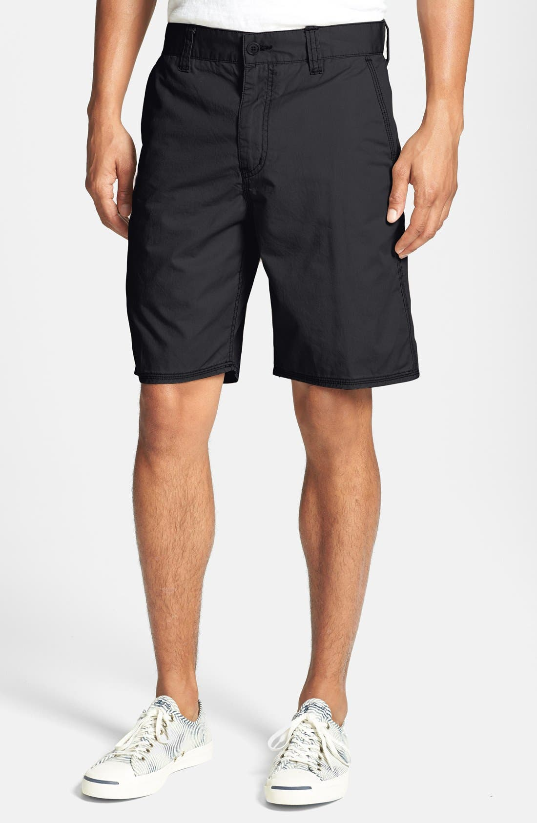 Main Image - John Varvatos Star USA Flat Front Shorts