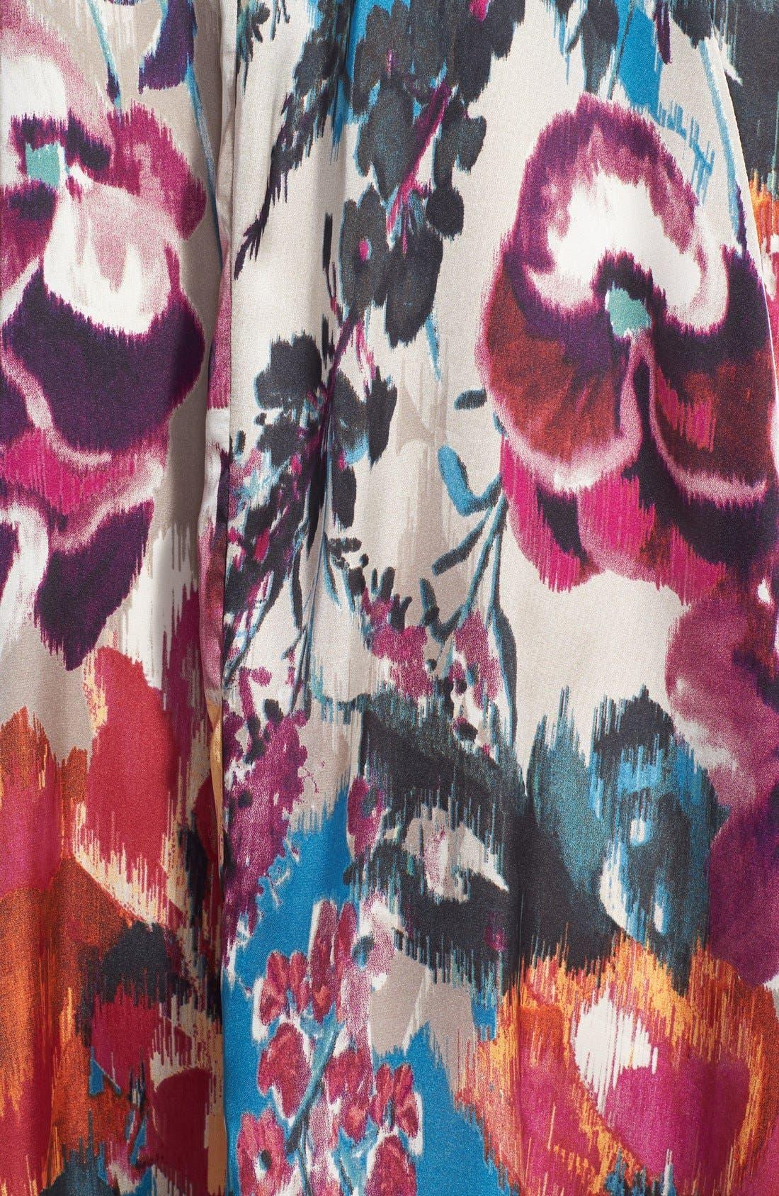 Alternate Image 3  - Maisie 'Lenore' Floral Print Kimono Dress
