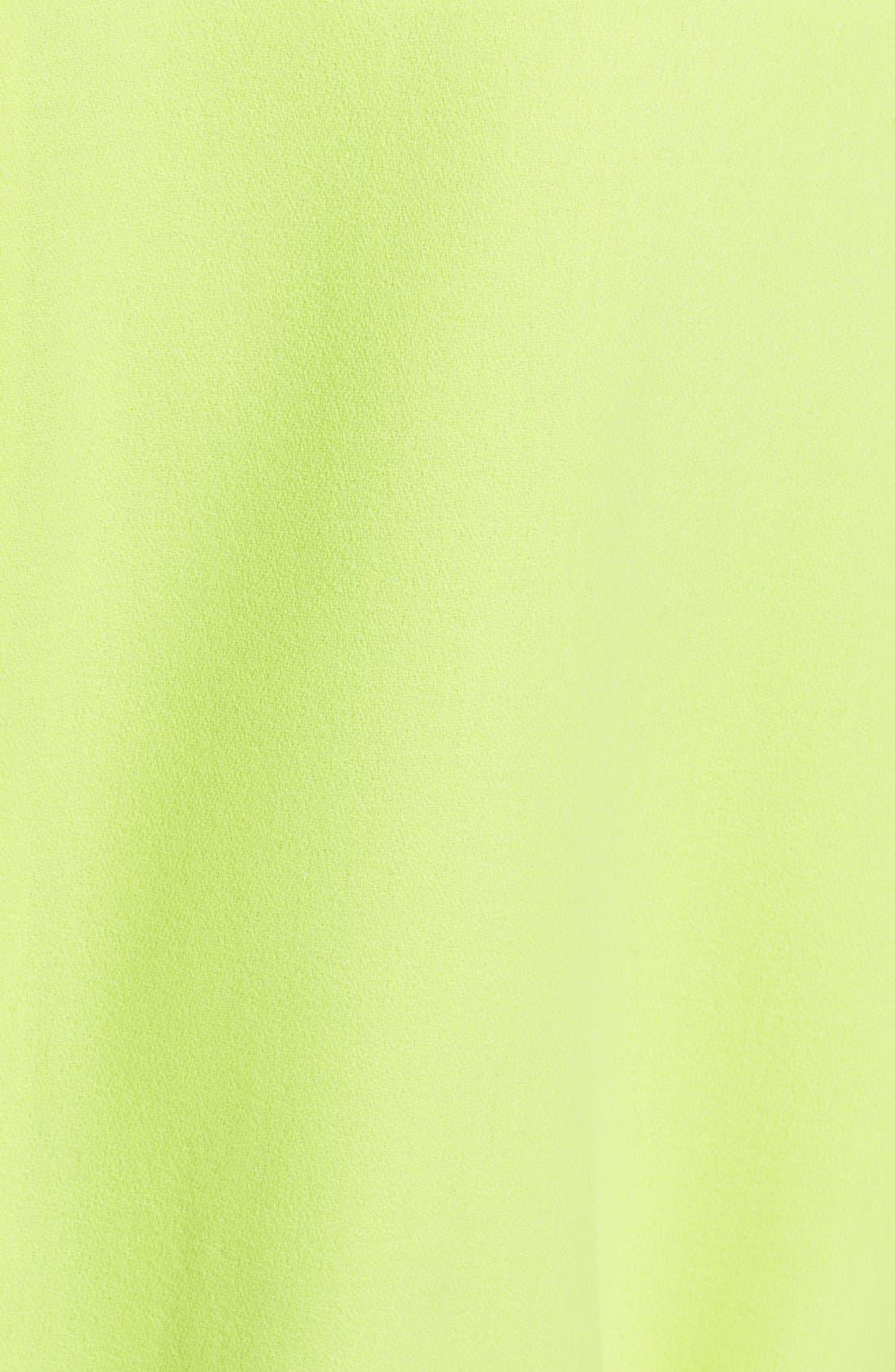 Alternate Image 3  - Saint Laurent Sleeveless Wool Crepe Shift Dress