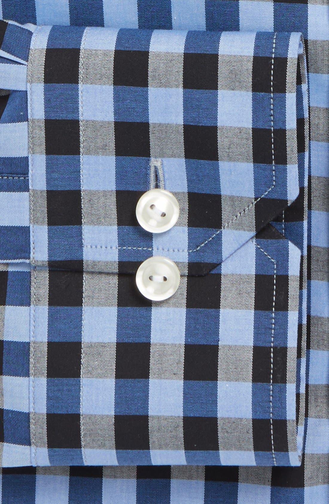 Alternate Image 2  - Eton Contemporary Check Dress Shirt