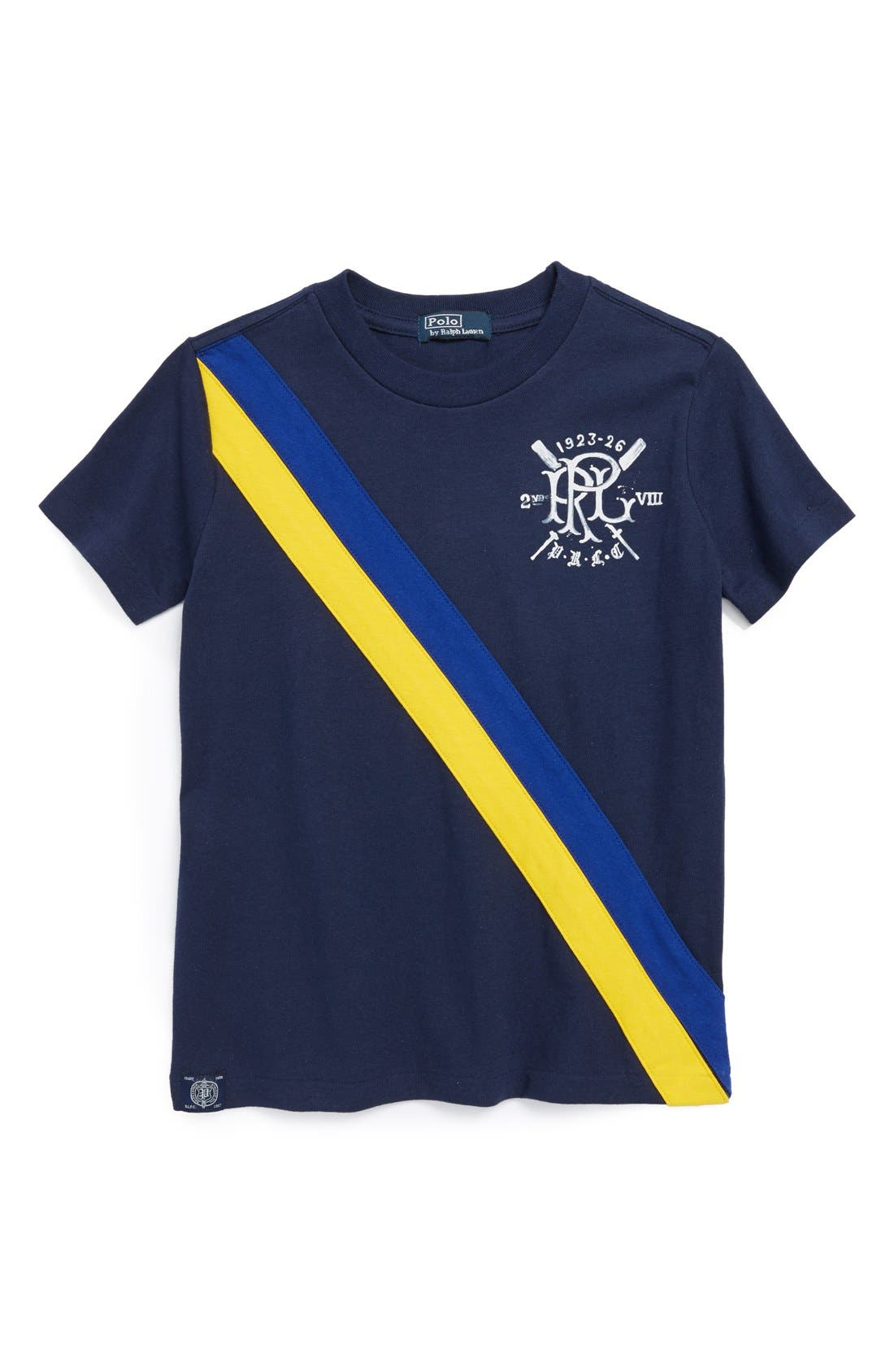 Main Image - Ralph Lauren Short Sleeve T-Shirt (Big Boys)