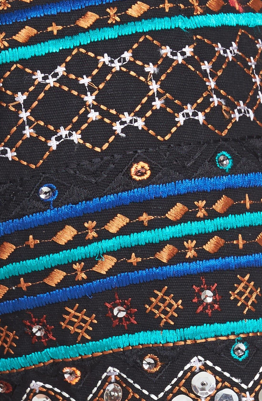 Alternate Image 3  - Lucky Brand Embellished Cotton Shorts
