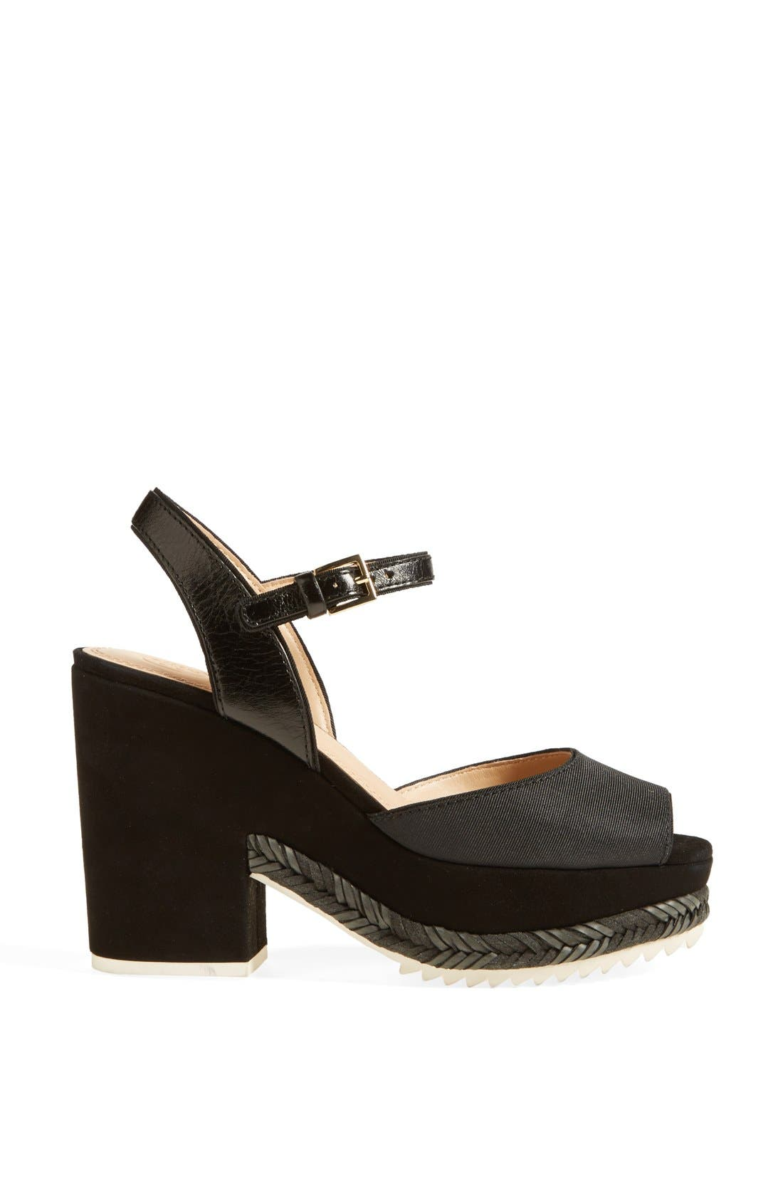 Alternate Image 4  - Tory Burch 'Brie' Platform Sandal