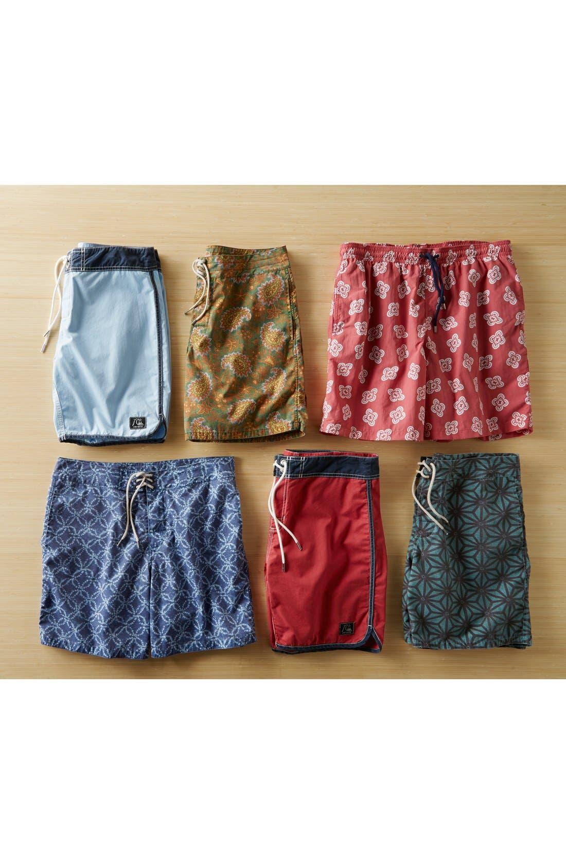 Alternate Image 4  - Faherty 'Classic' Print Board Shorts