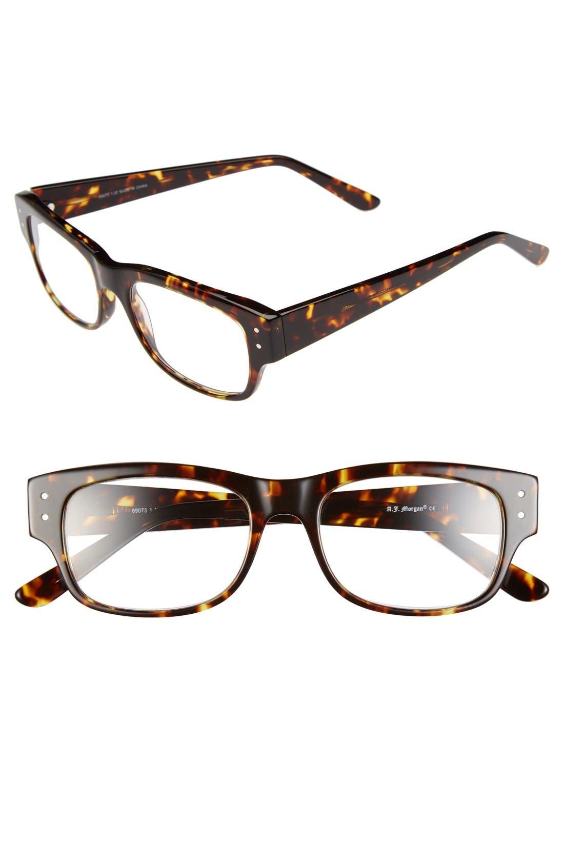 Alternate Image 1 Selected - A.J. Morgan 'Brody' 51mm Reading Glasses