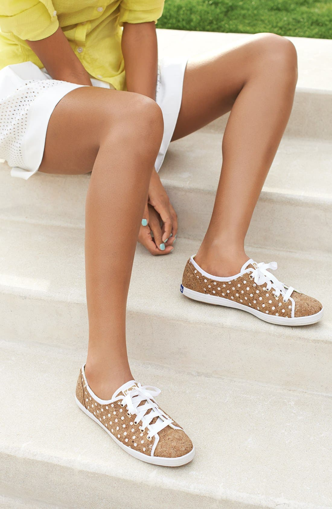 Alternate Image 5  - Keds® 'Rally' Cork Sneaker (Women)