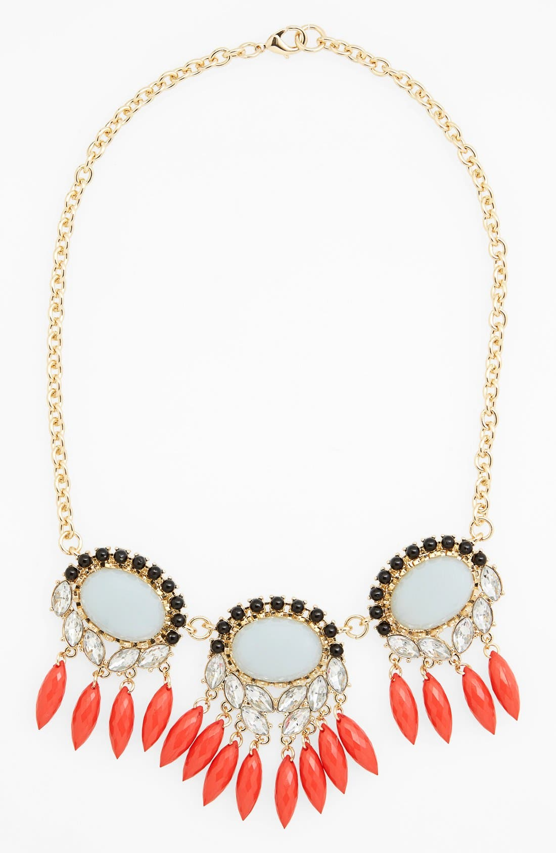 Alternate Image 1 Selected - Missing Piece Crystal Statement Necklace