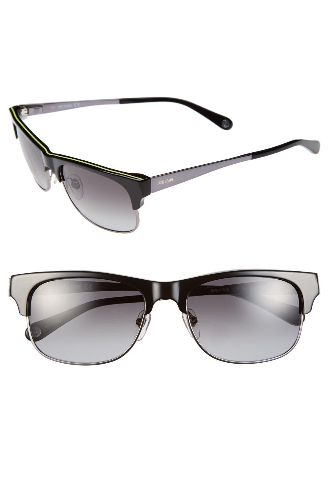 Alternate Image 1 Selected - Jack Spade 'Sawyer' 55mm Sunglasses