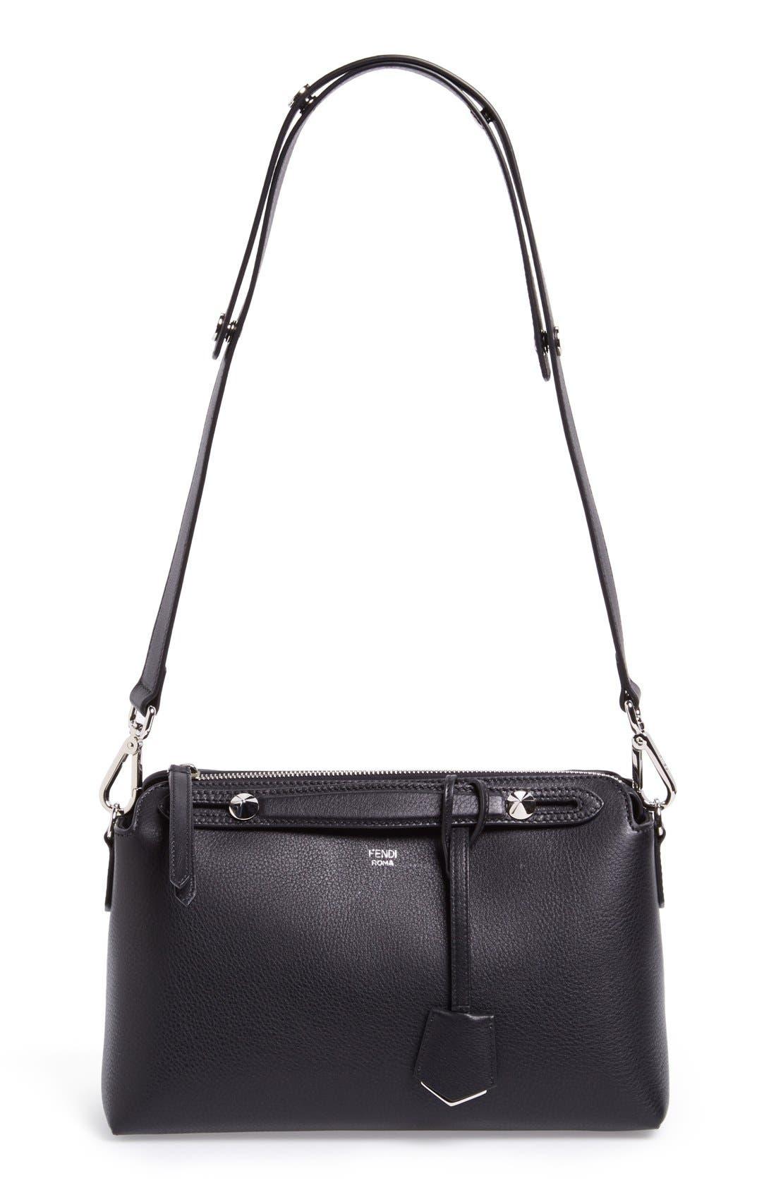 Main Image - Fendi 'Bauletto Piccolo' Leather Crossbody Bag