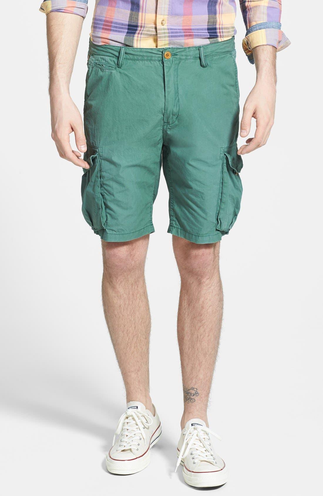 Alternate Image 1 Selected - Scotch & Soda Poplin Cargo Shorts