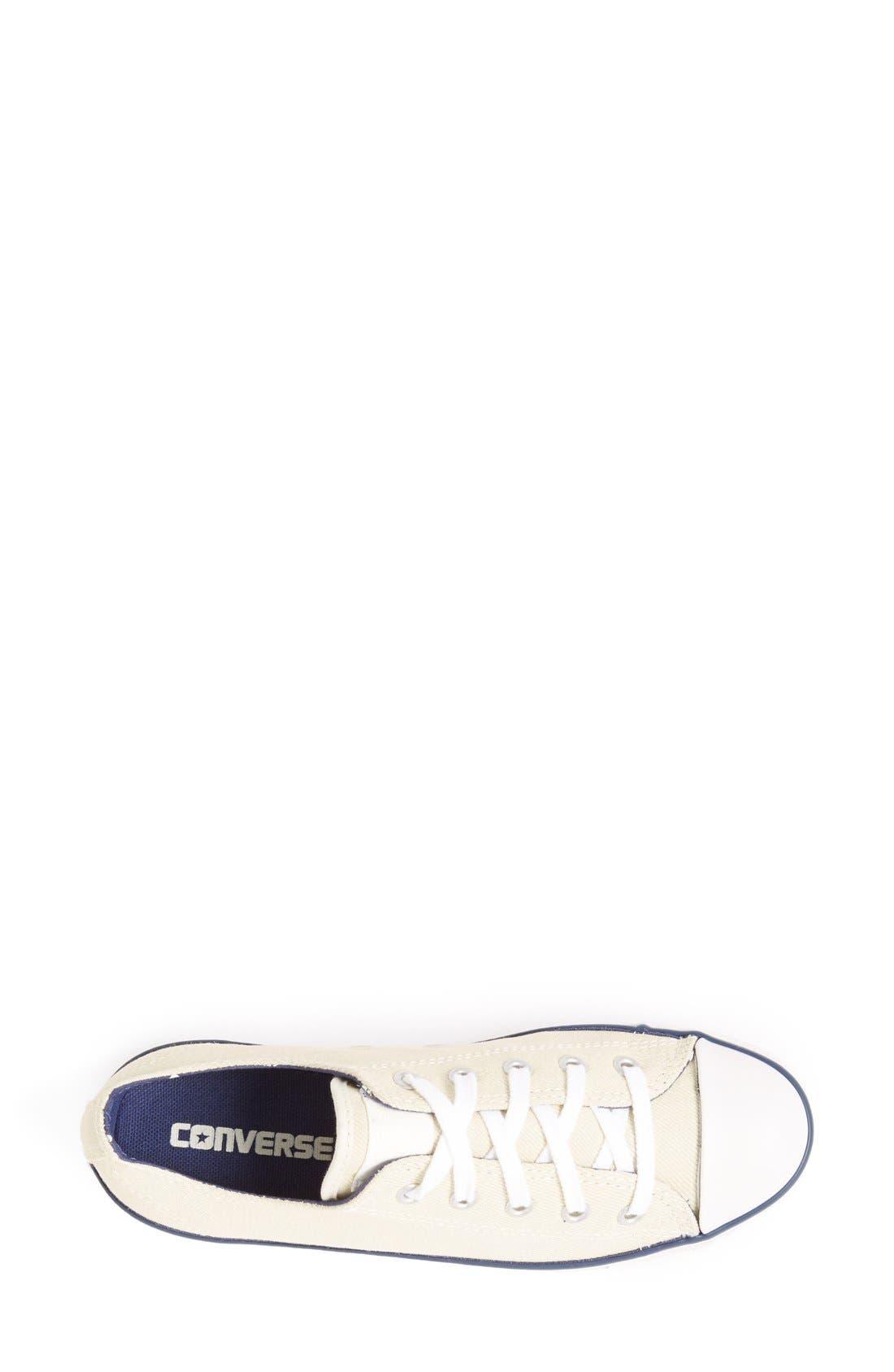Alternate Image 3  - Converse Chuck Taylor® 'Dainty' Sneaker (Women)