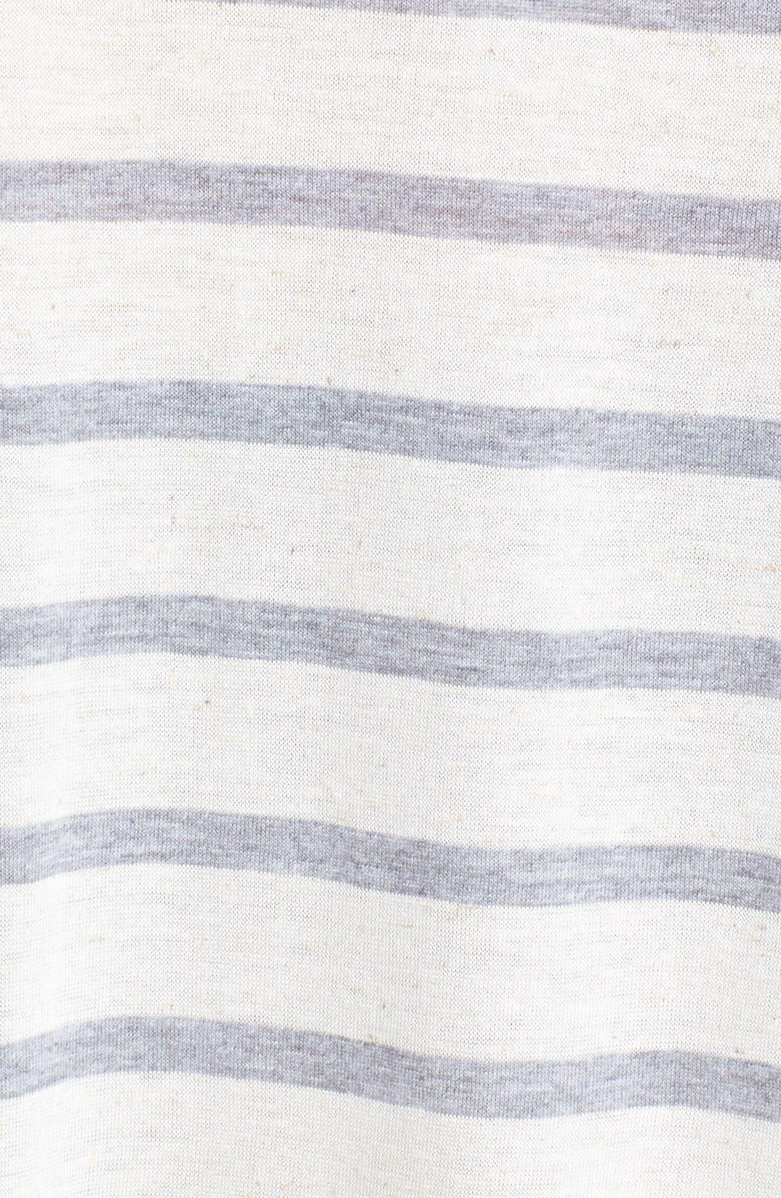 Alternate Image 3  - Ten Sixty Sherman Stripe Peplum Pullover (Juniors)