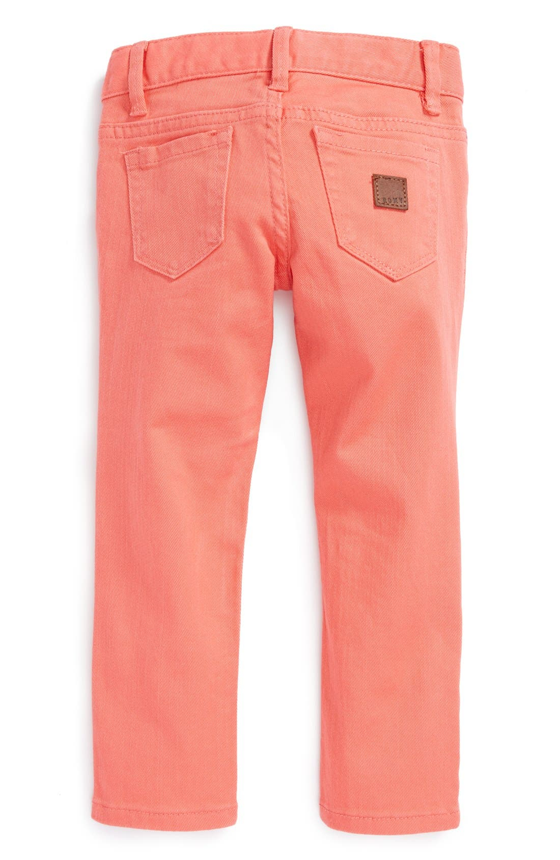 Alternate Image 1 Selected - Roxy 'Tawana' Skinny Jeans (Toddler Girls)