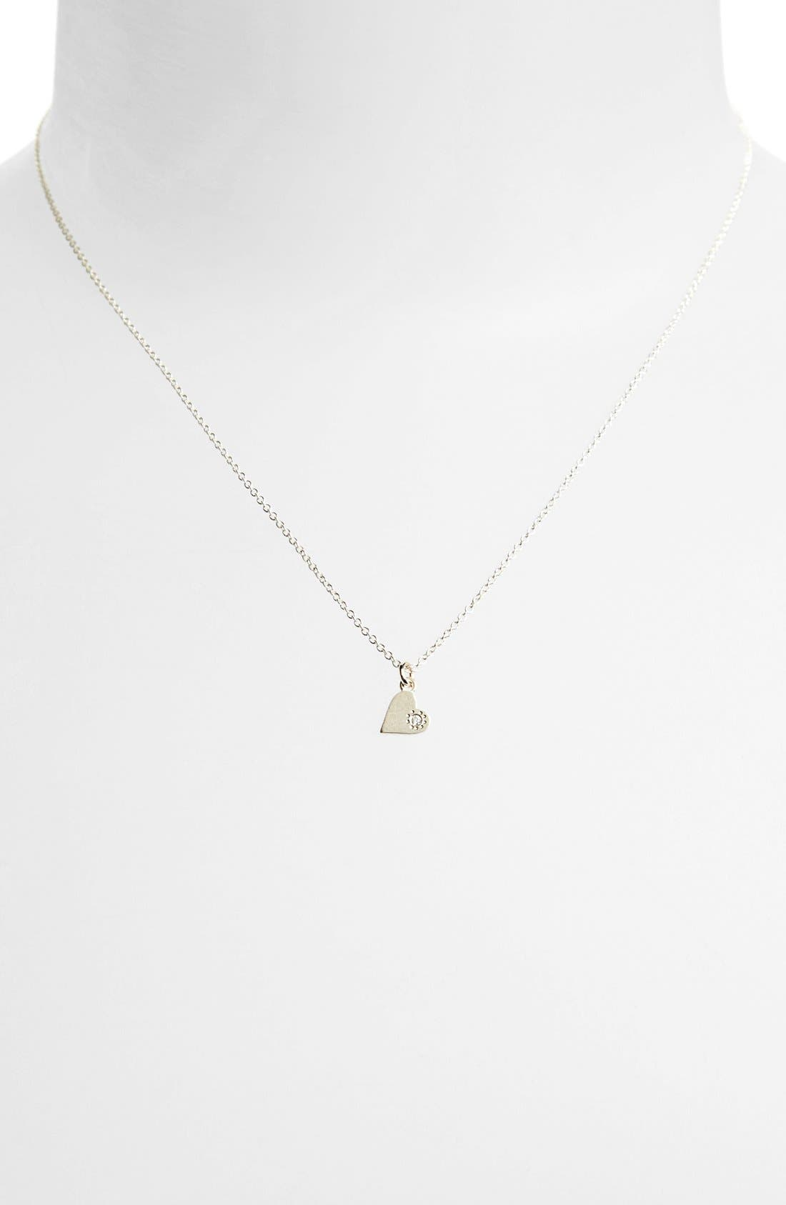Alternate Image 2  - Dogeared 'Maid of Honor - Heart' Pendant Necklace (Nordstrom Exclusive)