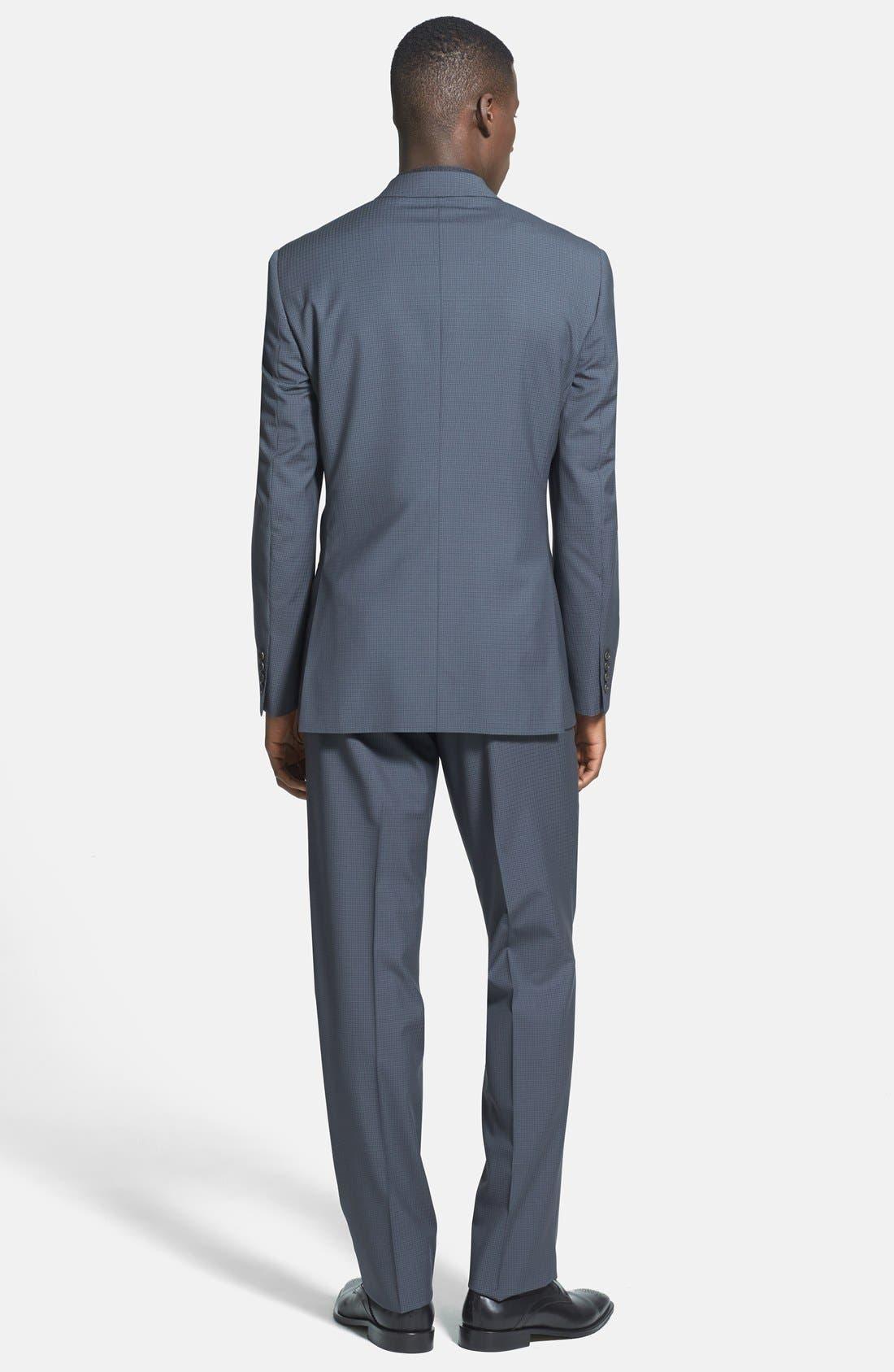 Alternate Image 2  - Ted Baker London 'Jones' Trim Fit Check Suit (Online Only)