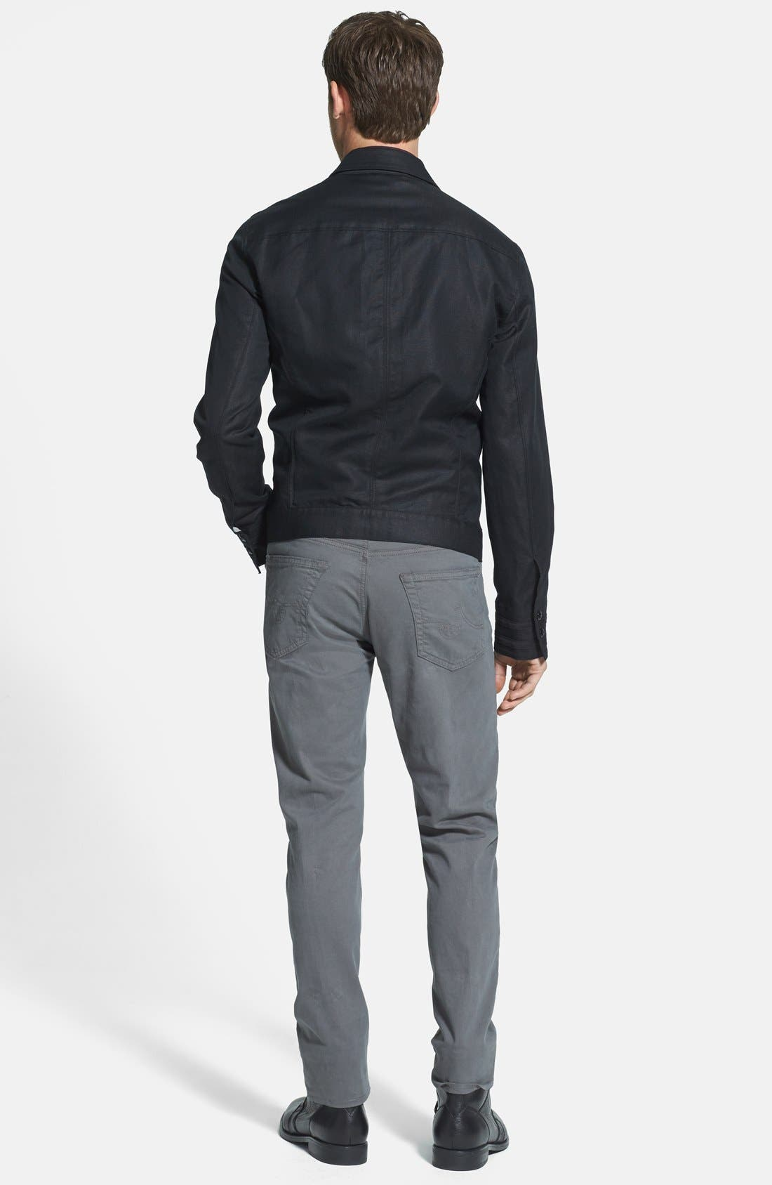 Alternate Image 5  - John Varvatos Star USA Slim Fit Cotton & Linen Jacket