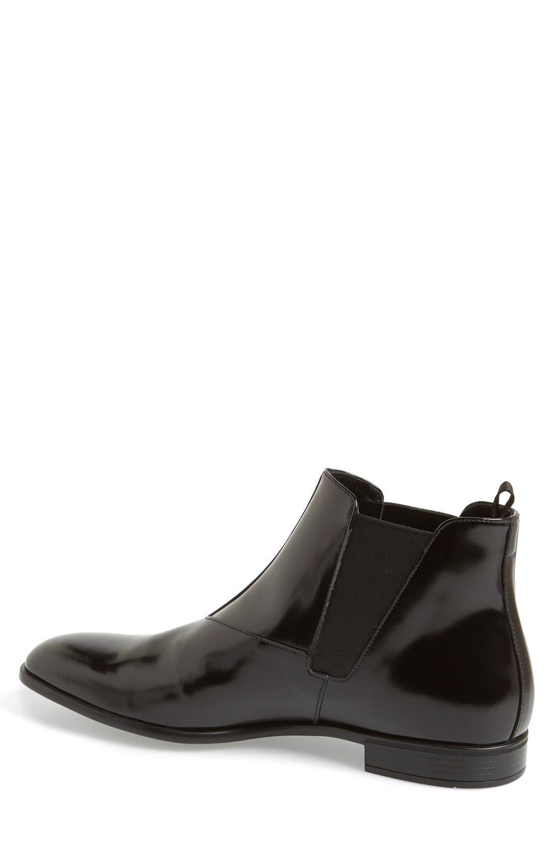Alternate Image 2  - Prada 'Spazzolato' Chelsea Boot (Men)