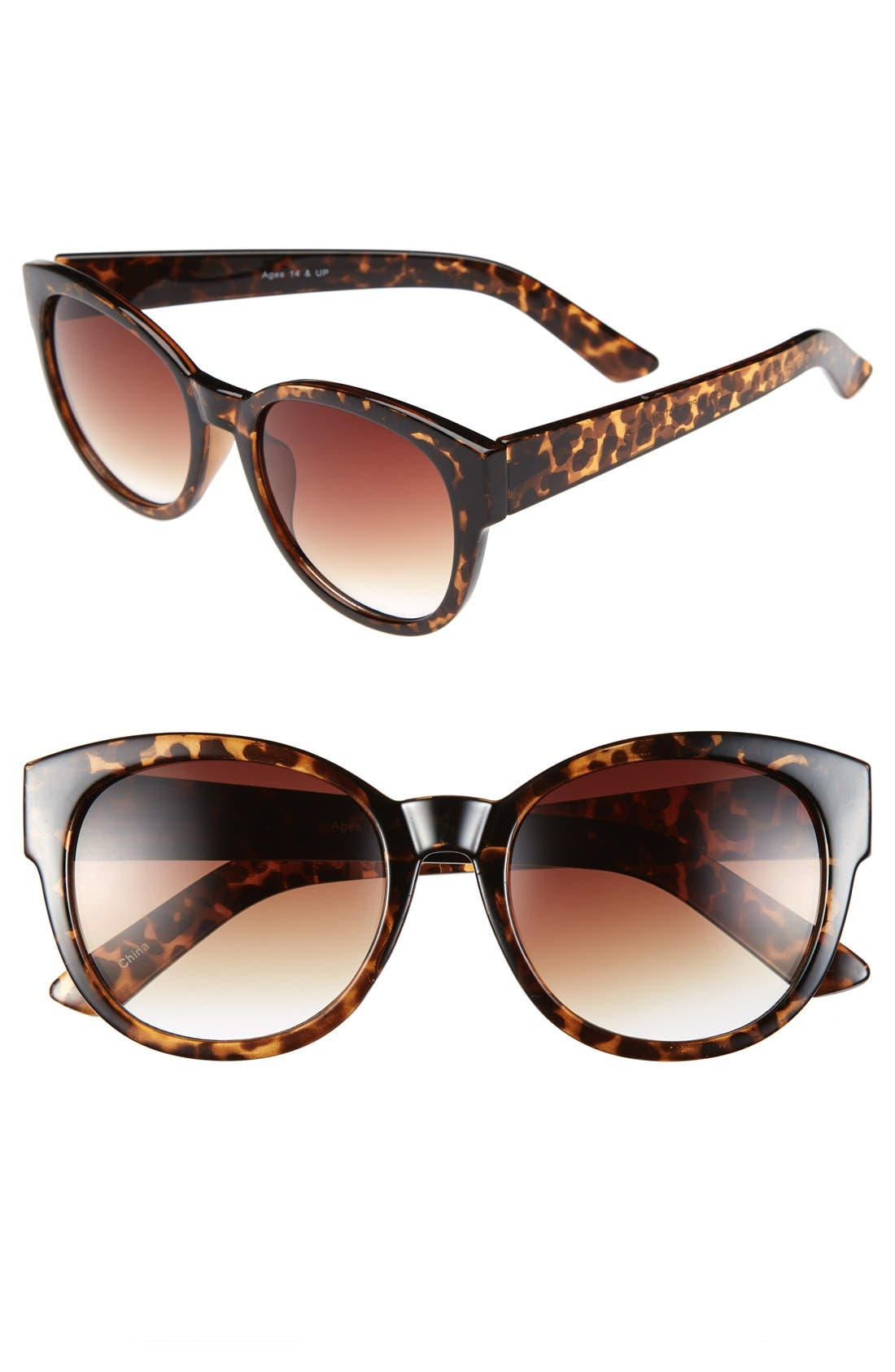 Alternate Image 1 Selected - Fantas Eyes 'Power House' 56mm Sunglasses (Juniors)