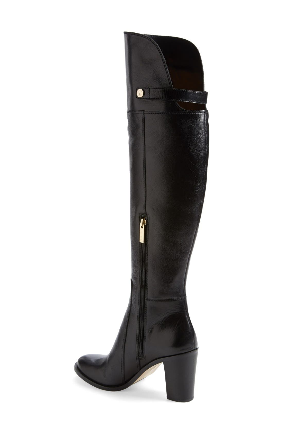 Alternate Image 2  - Louise et Cie 'Navaria' Over the Knee Leather Boot (Women)