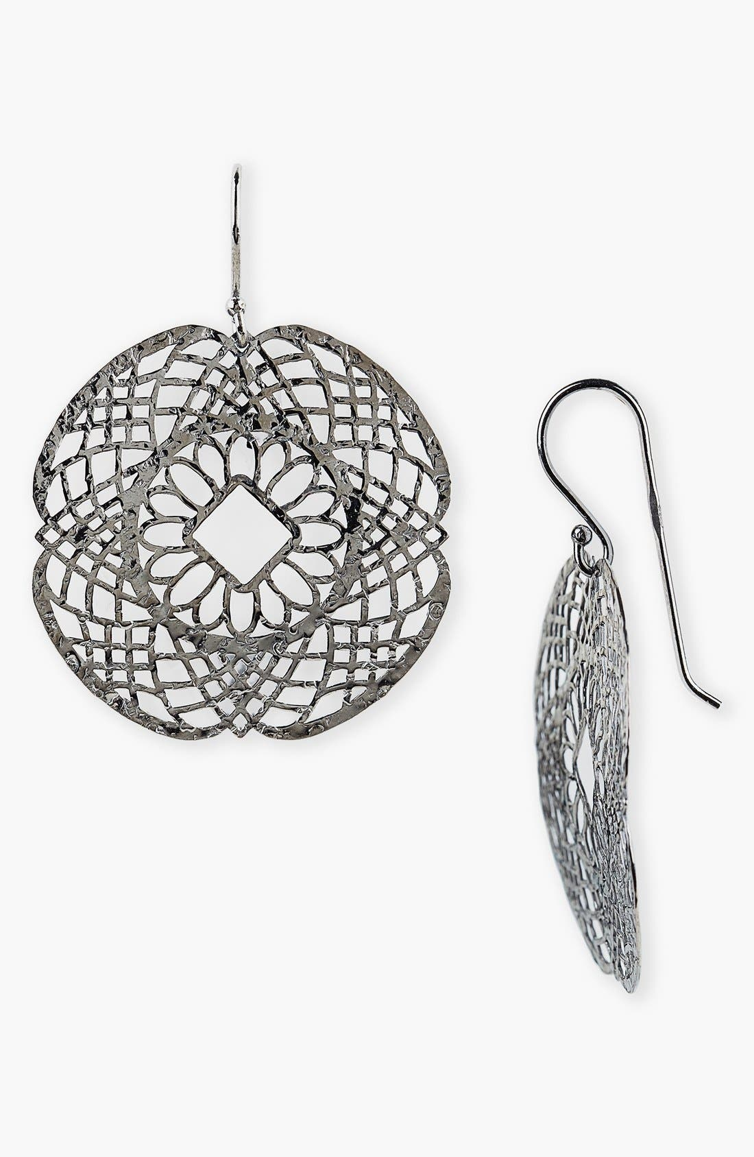 Alternate Image 1 Selected - Argento Vivo Drop Earrings (Nordstrom Exclusive)