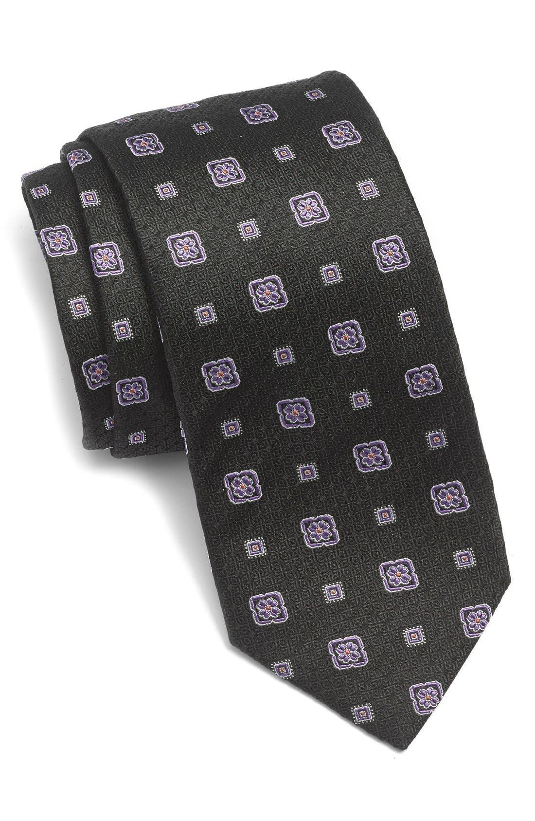 Main Image - Nordstrom Woven Silk Tie