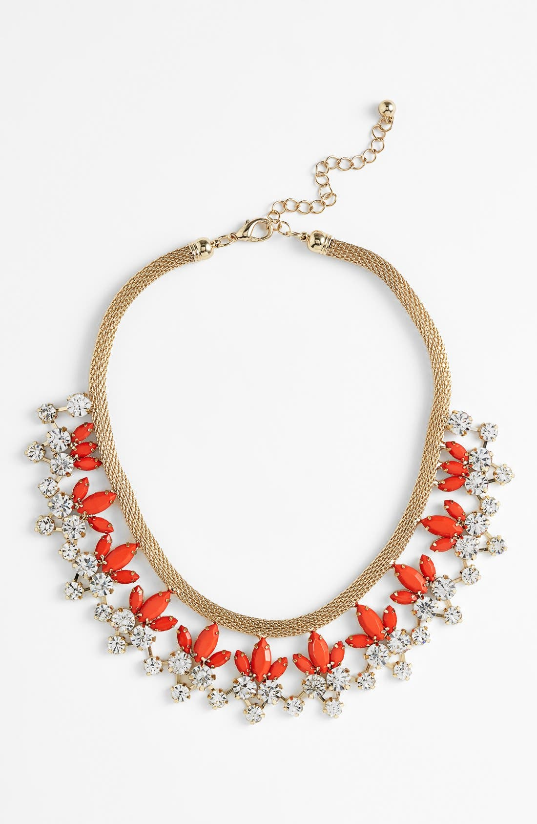 Main Image - Natasha Couture Floral Statement Necklace