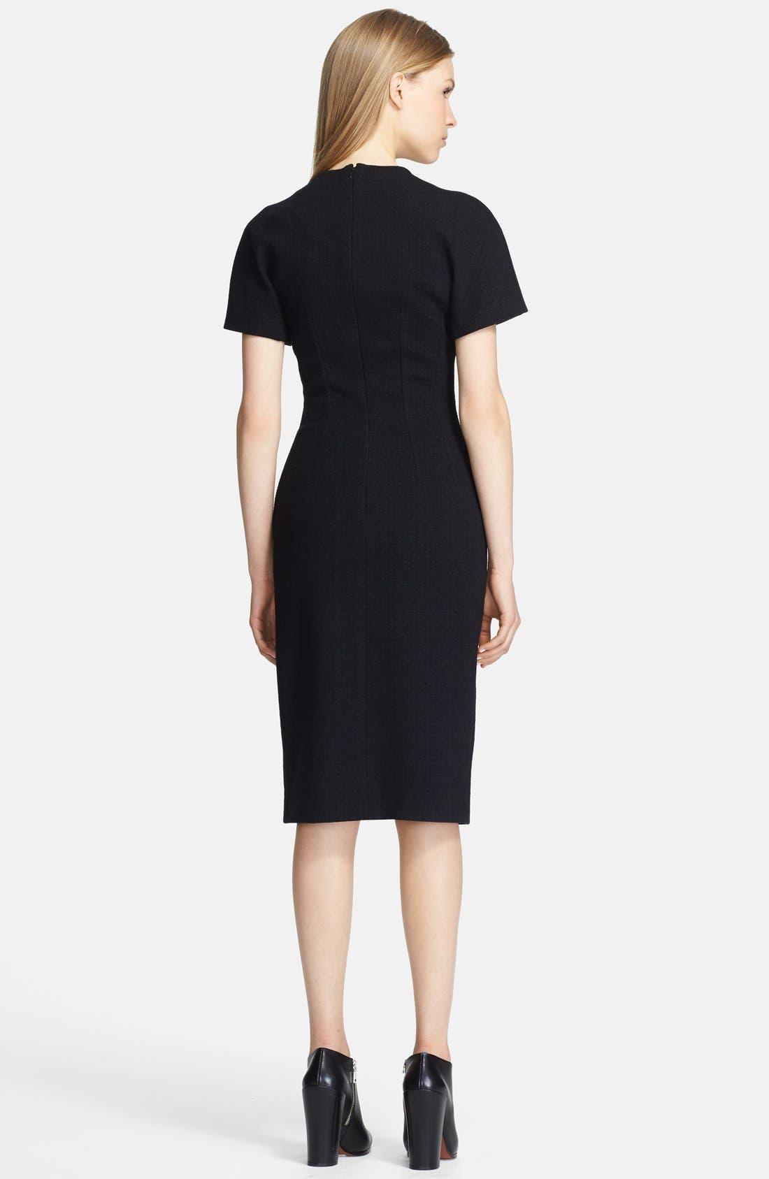 Alternate Image 2  - Proenza Schouler Short Sleeve Jersey Dress