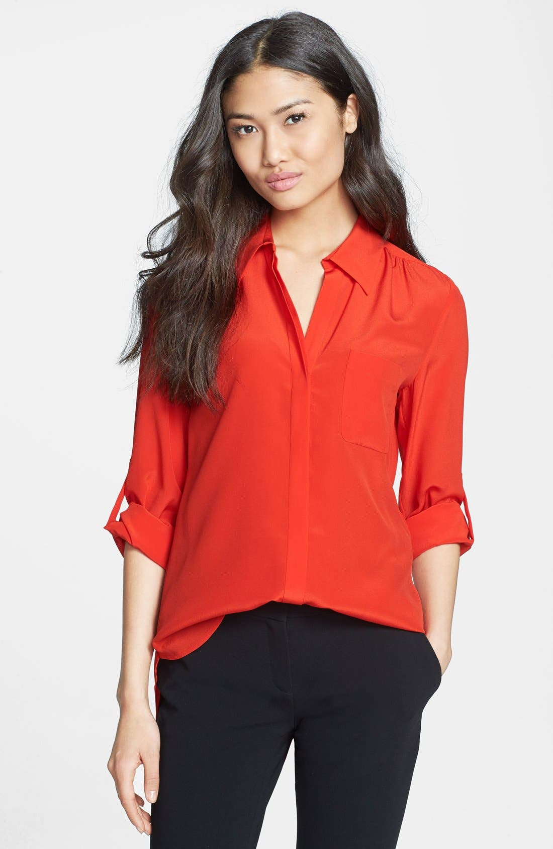 Alternate Image 1 Selected - Diane von Furstenberg 'Lorelei 2' Silk Shirt