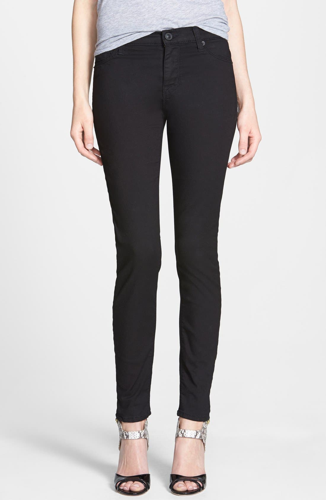 Alternate Image 1 Selected - Hudson Jeans 'Nico' Super Skinny Jeans (Melancholy)