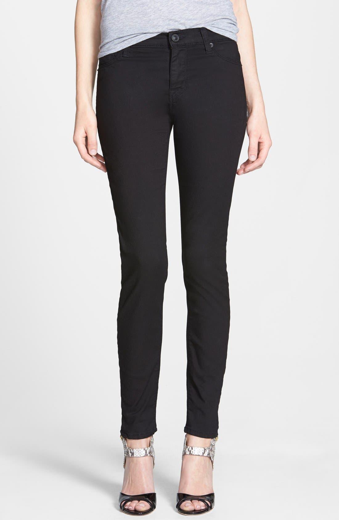 Main Image - Hudson Jeans 'Nico' Super Skinny Jeans (Melancholy)