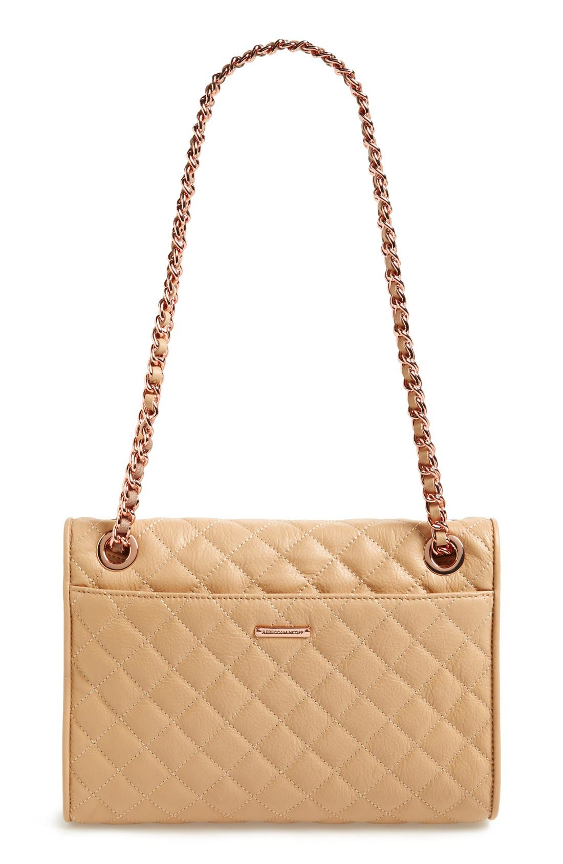 Alternate Image 4  - Rebecca Minkoff 'Quilted Affair' Convertible Shoulder Bag