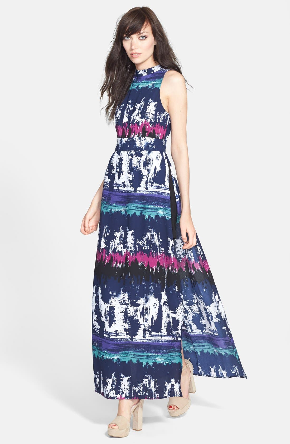 Alternate Image 1 Selected - Leith Side Slit Maxi Dress